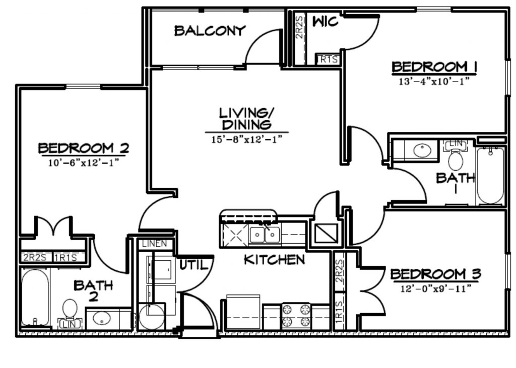 C1 21Pearl 1024x731 - 3 Bed | 2 Bath